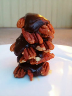 Salted caramel turtle candies