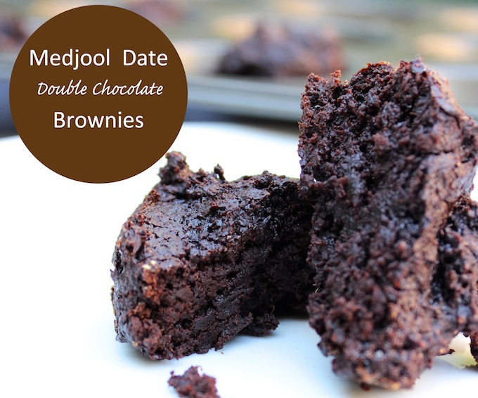 gluten free medjool date brownies
