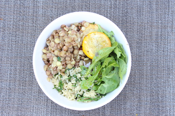 Gluten Free, Mediterranean Quinoa Bowl | HealthBean Nutrition