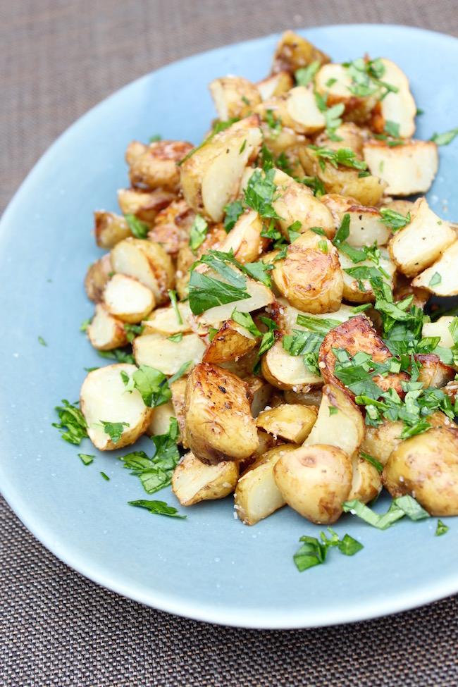 Lemon Parmesan New Potatoes